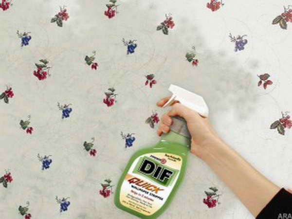 Remove Wallpaper With Fabric Softener Remove Wallpaper With Fabric 600x450