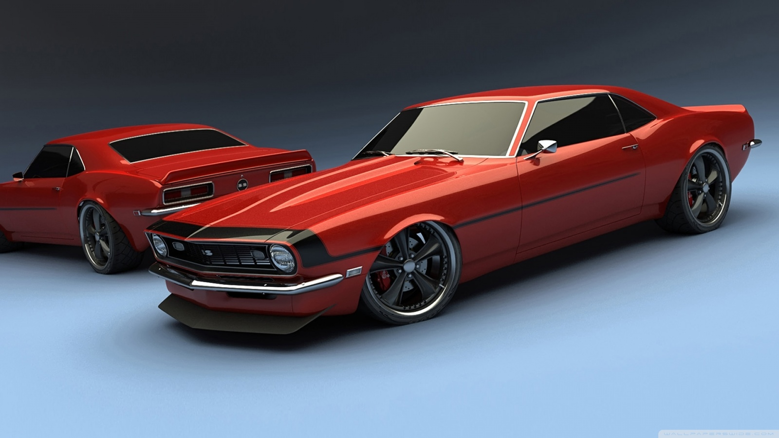chevy camaro classic cars wallpaper 1600x900jpg 1600x900