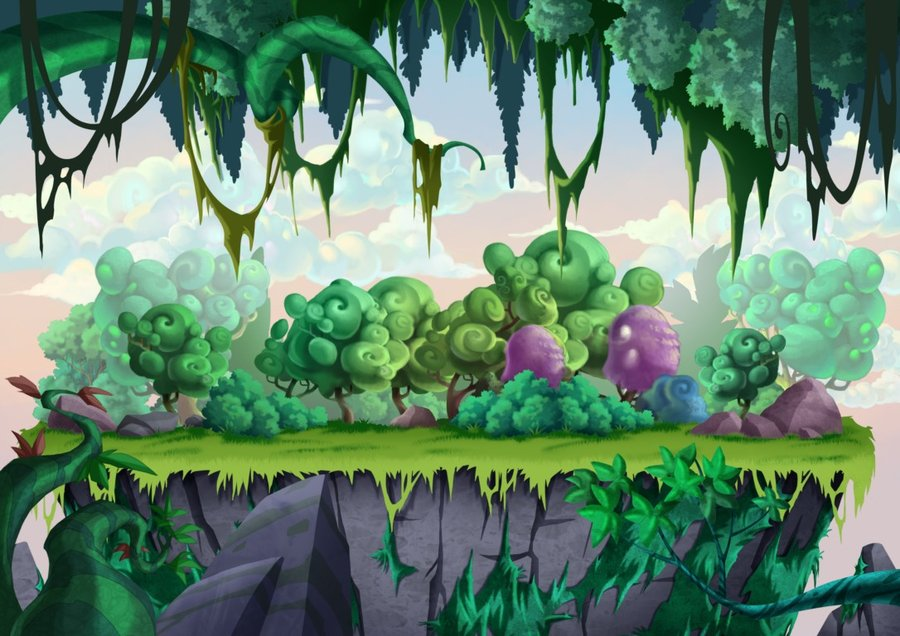 Game Background design by munlyne 900x636