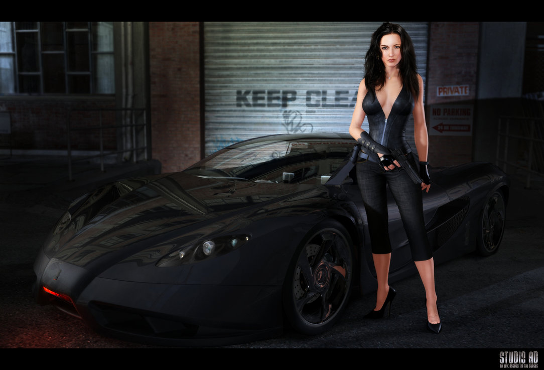 Knight Rider KITT Art The Car Wallpapers 1084x737
