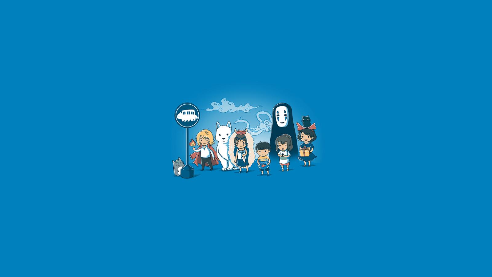 Studio Ghibli Wallpaper Wallpaper Full HD 1600x900