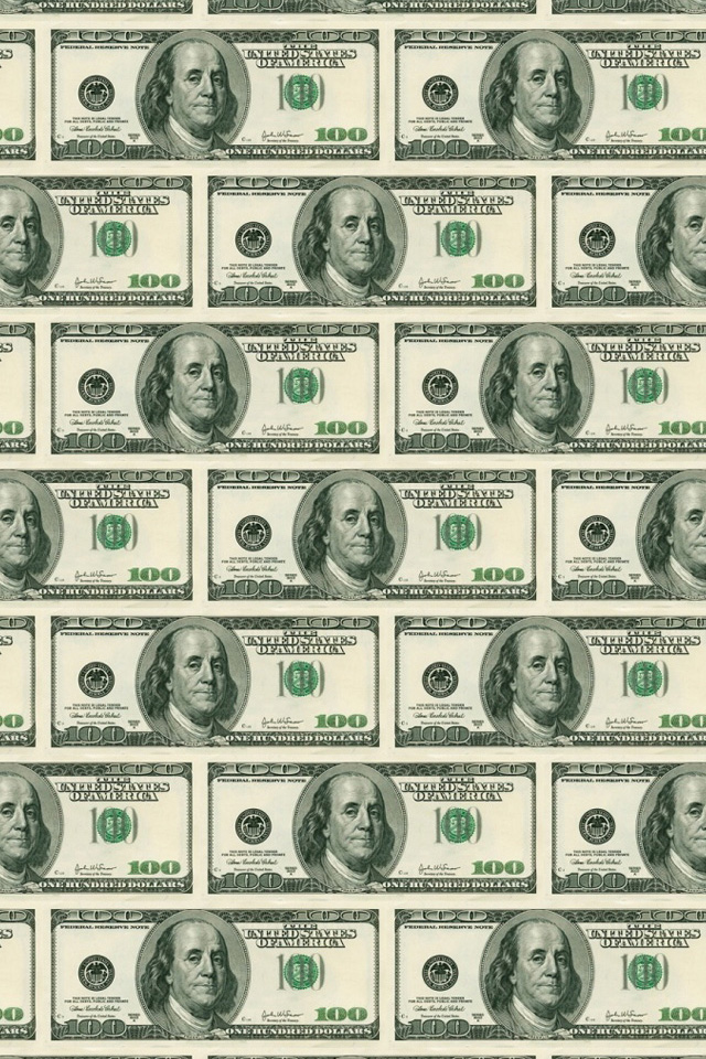 Money iPhone Wallpaper HD 640x960