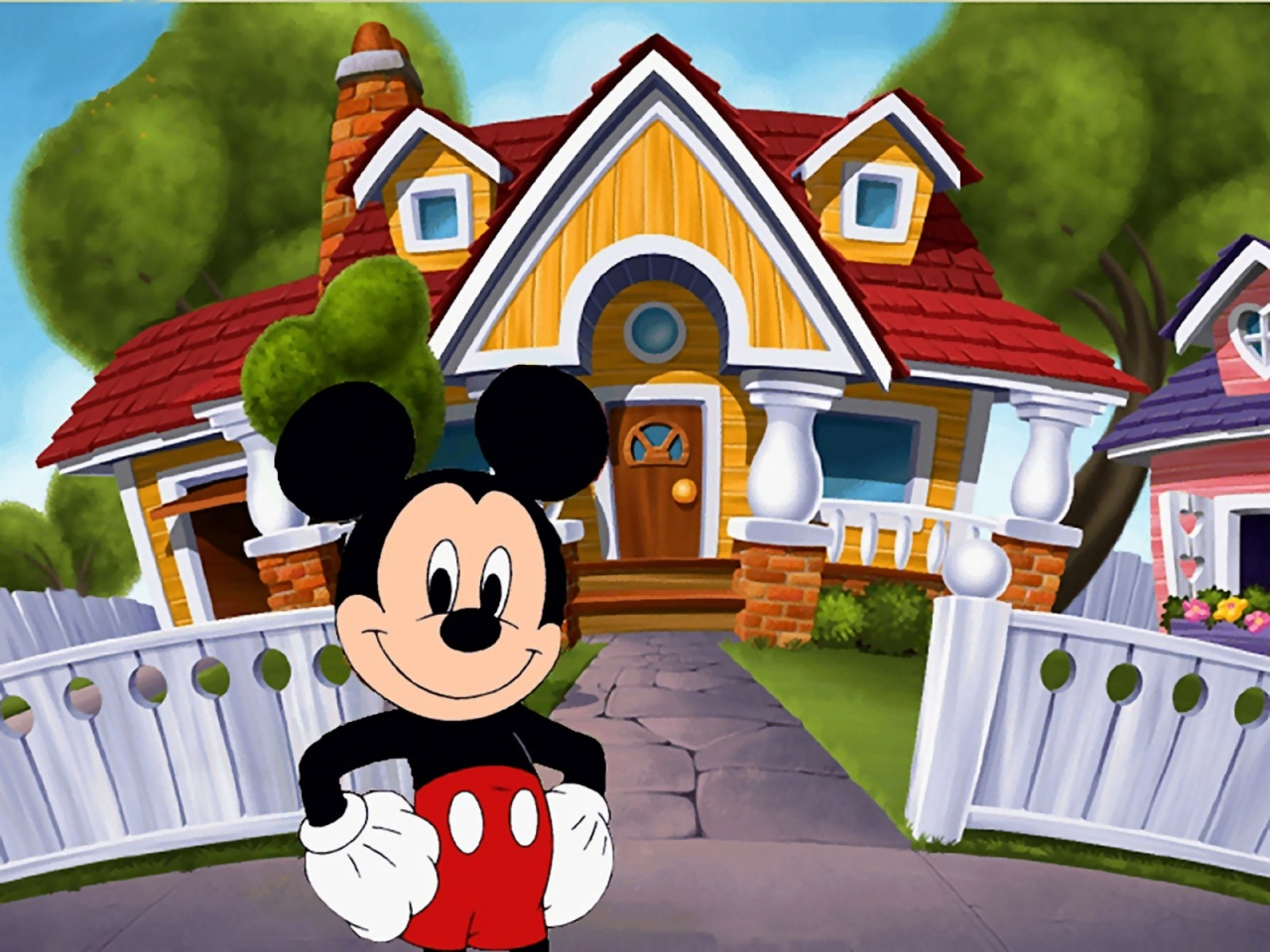 Free Gallery Of Mickey Mouse Wallpaper For