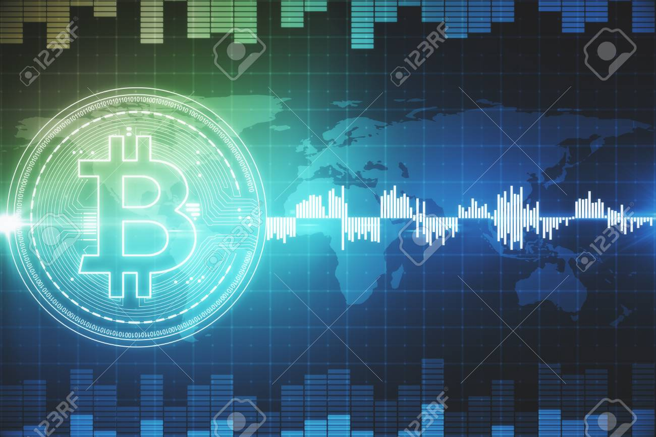 Creative Bitcoin Forex Background Cryptocurrency And Finance 1300x866