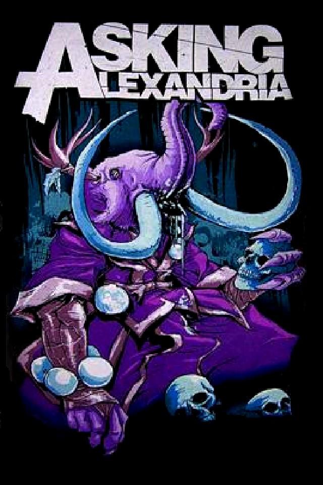 asking alexandria iphone wallpaper wallpapersafari