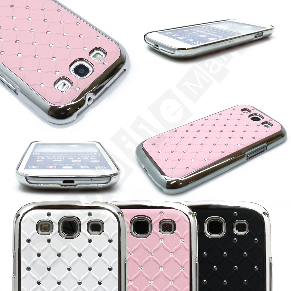 Bling Snap on Hard Case Cover for Samsung Galaxy S3 Rhinestone eBay 1000x1000