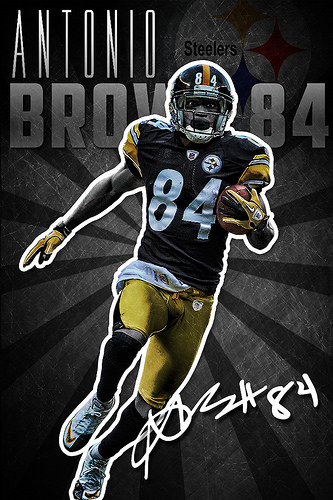 Antonio Brown Wallpaper Antonio brown pittsburgh 333x500