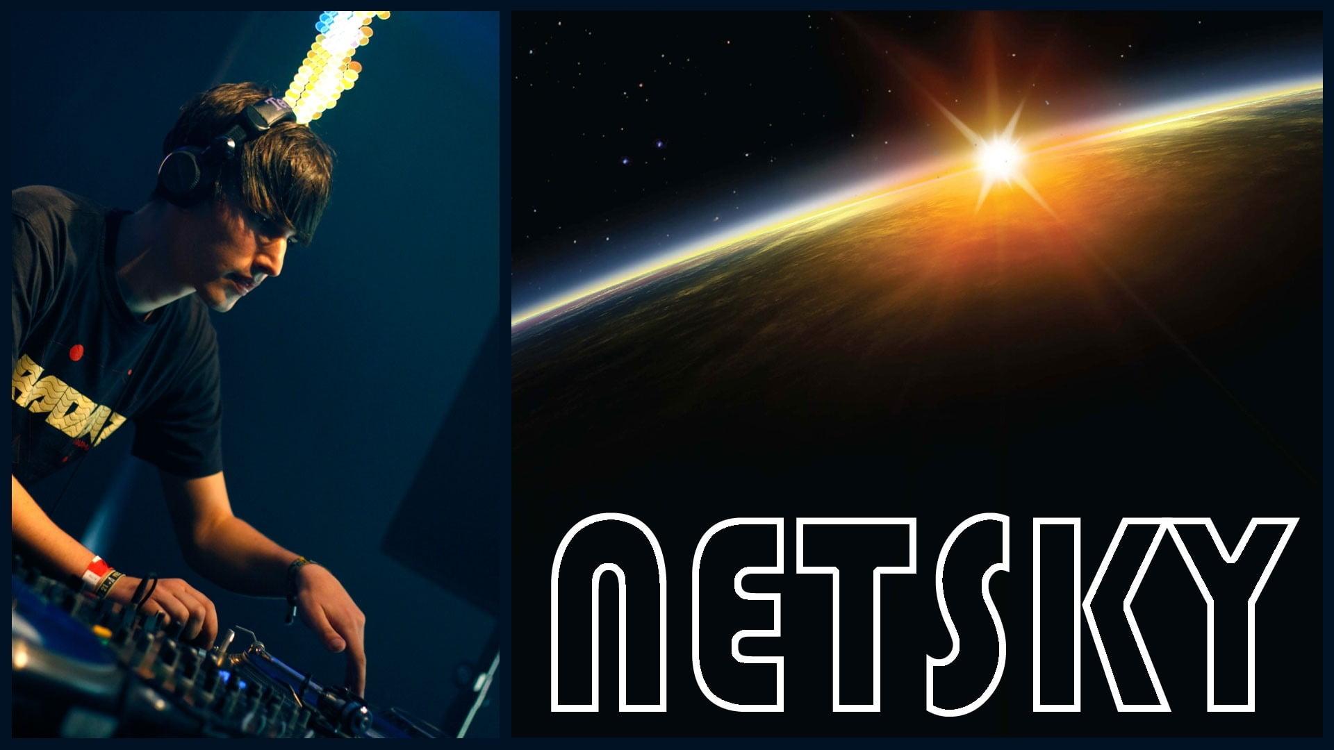 HD wallpaper Netsky Man Earth Sun Space one person night 1920x1080