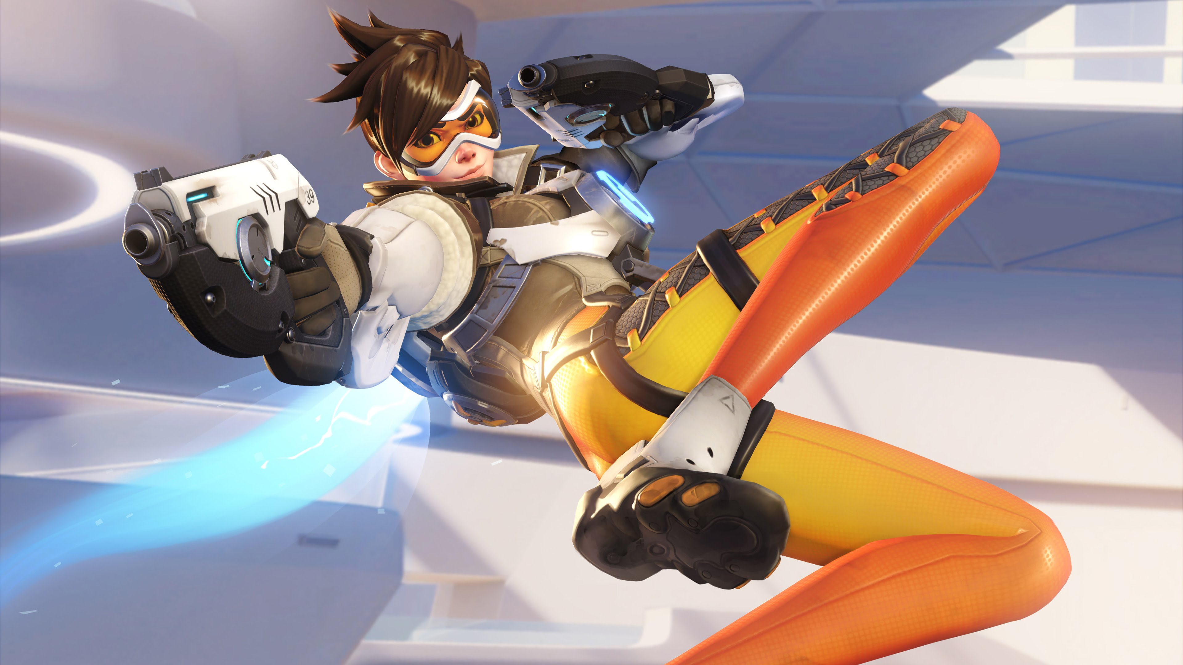 Overwatch Tracer 4K Wallpapers HD Wallpapers 3840x2160