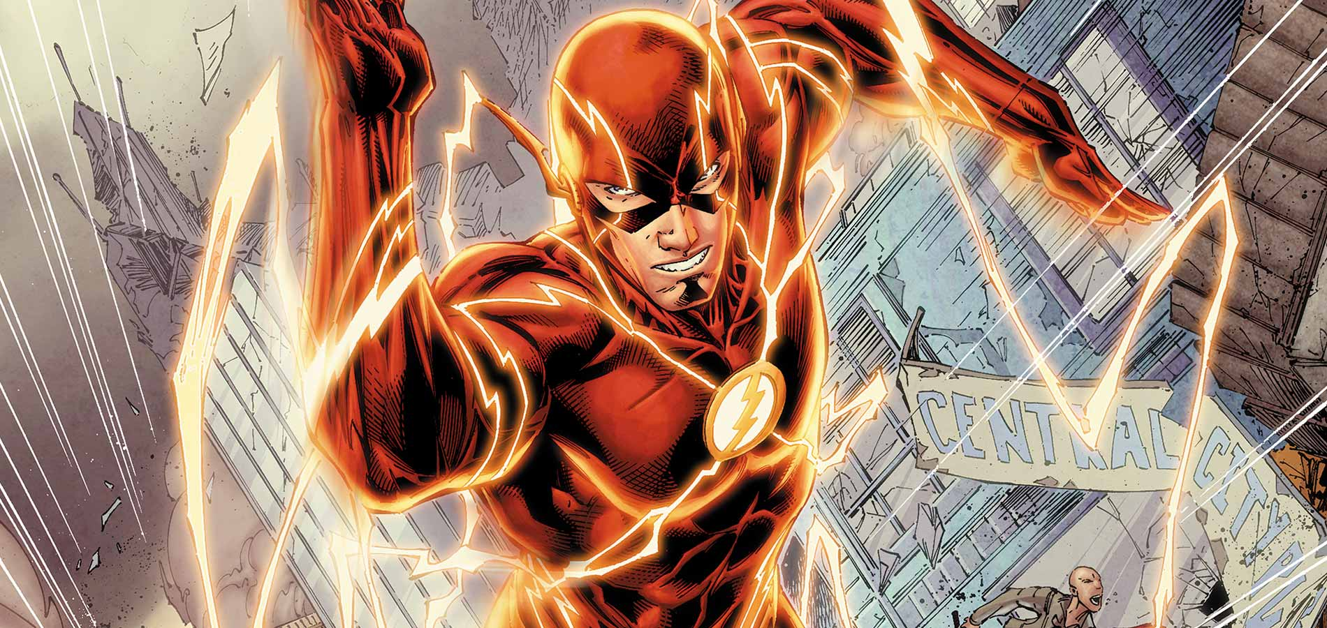 The Flash Ronnie Dr Stein sobrevivem a exploso nuclear 1900x900
