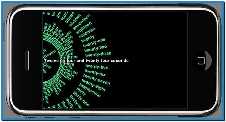 Screensaver clock iphone   Download 723x391