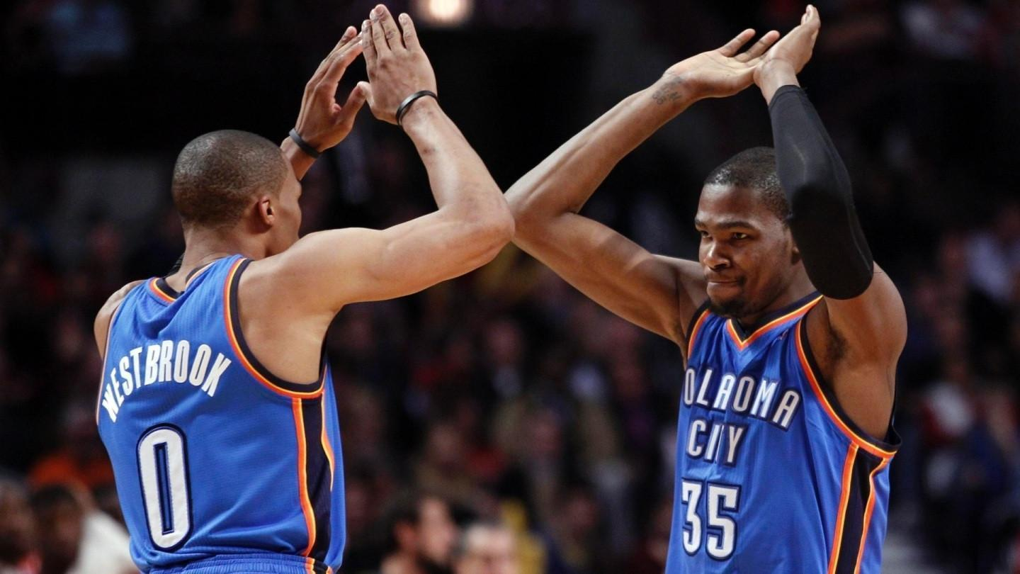 Kevin Durant And Russell Westbrook Wallpapers 2016 1440x810
