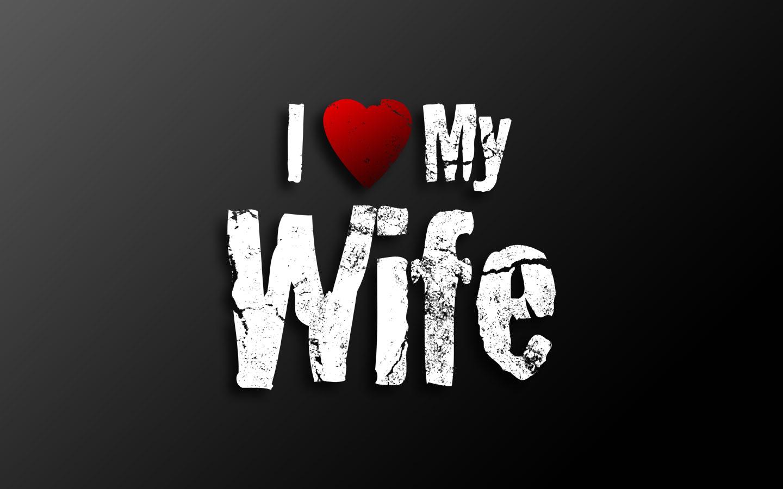 Love you wife wallpaper wallpapersafari - Wallpaper i love my husband ...