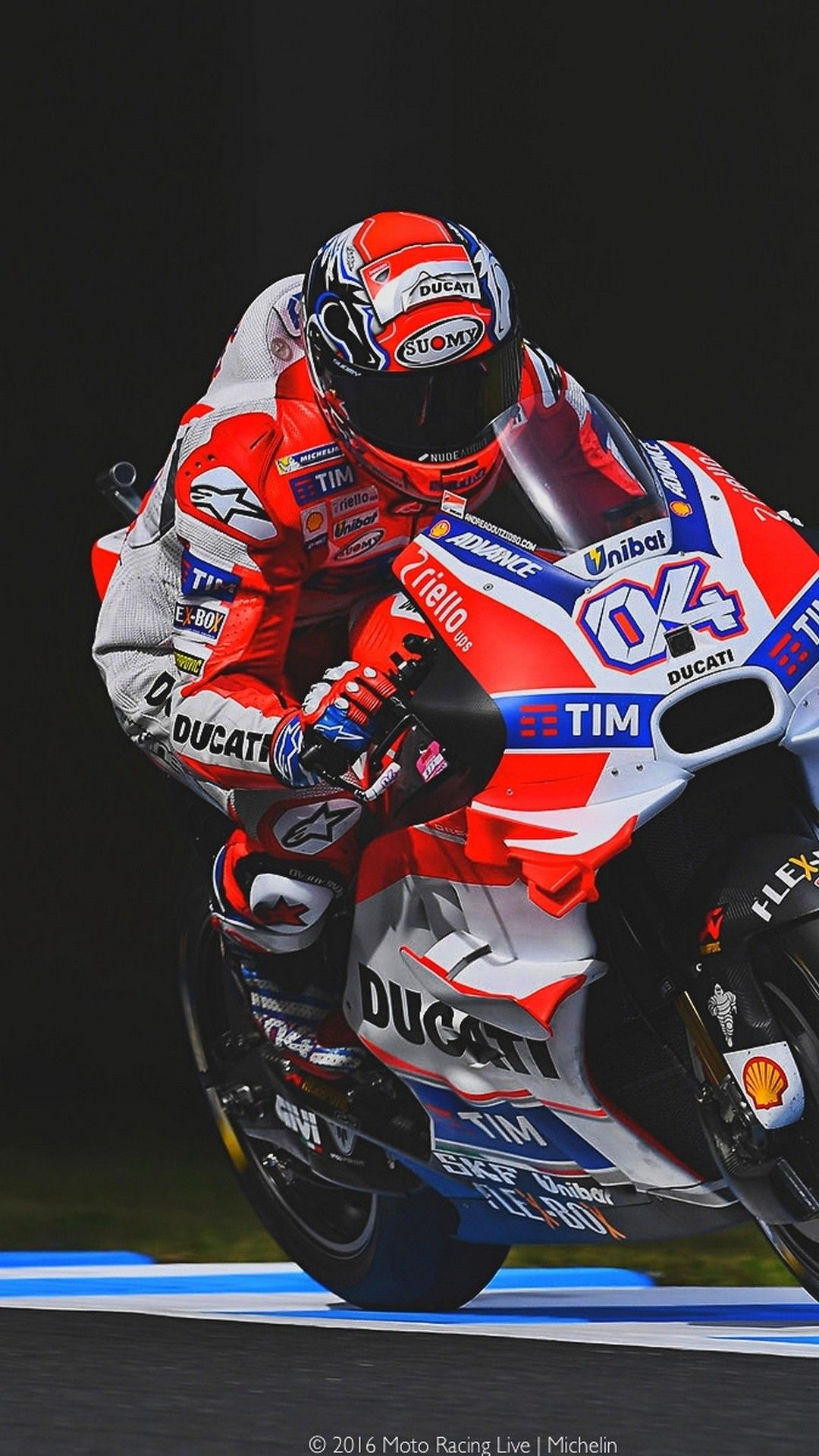 Motogp Andrea Dovizioso Wallpaper For iPhone iPhoneWallpapers 1080x1920