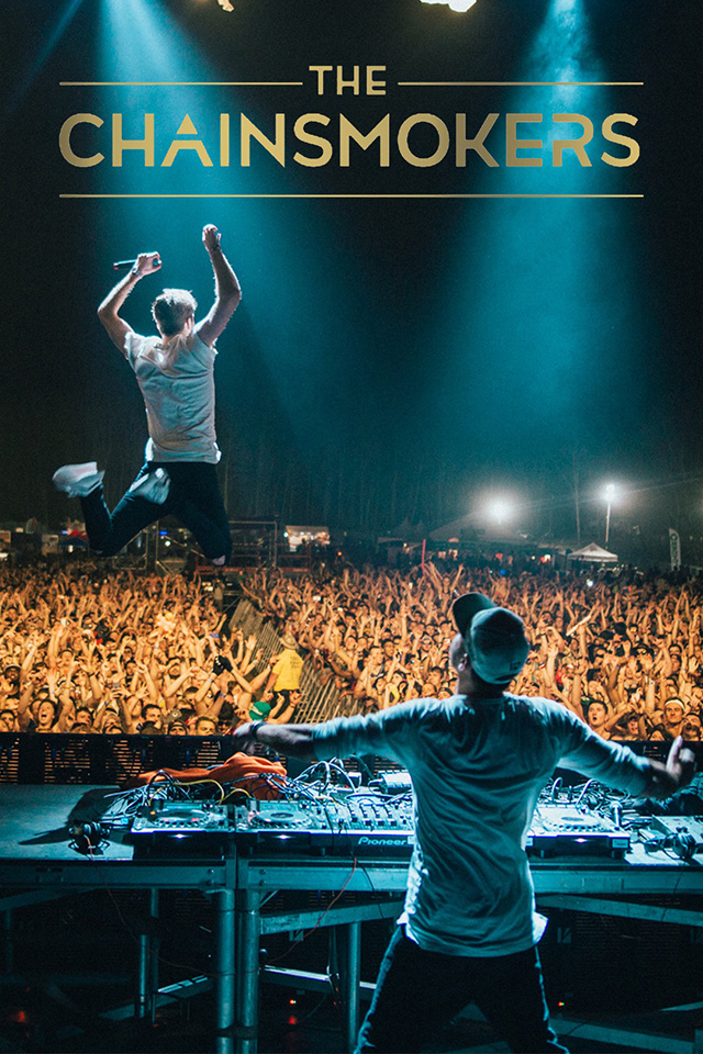 The Chainsmokers iPhone Wallpaper HD 640x960