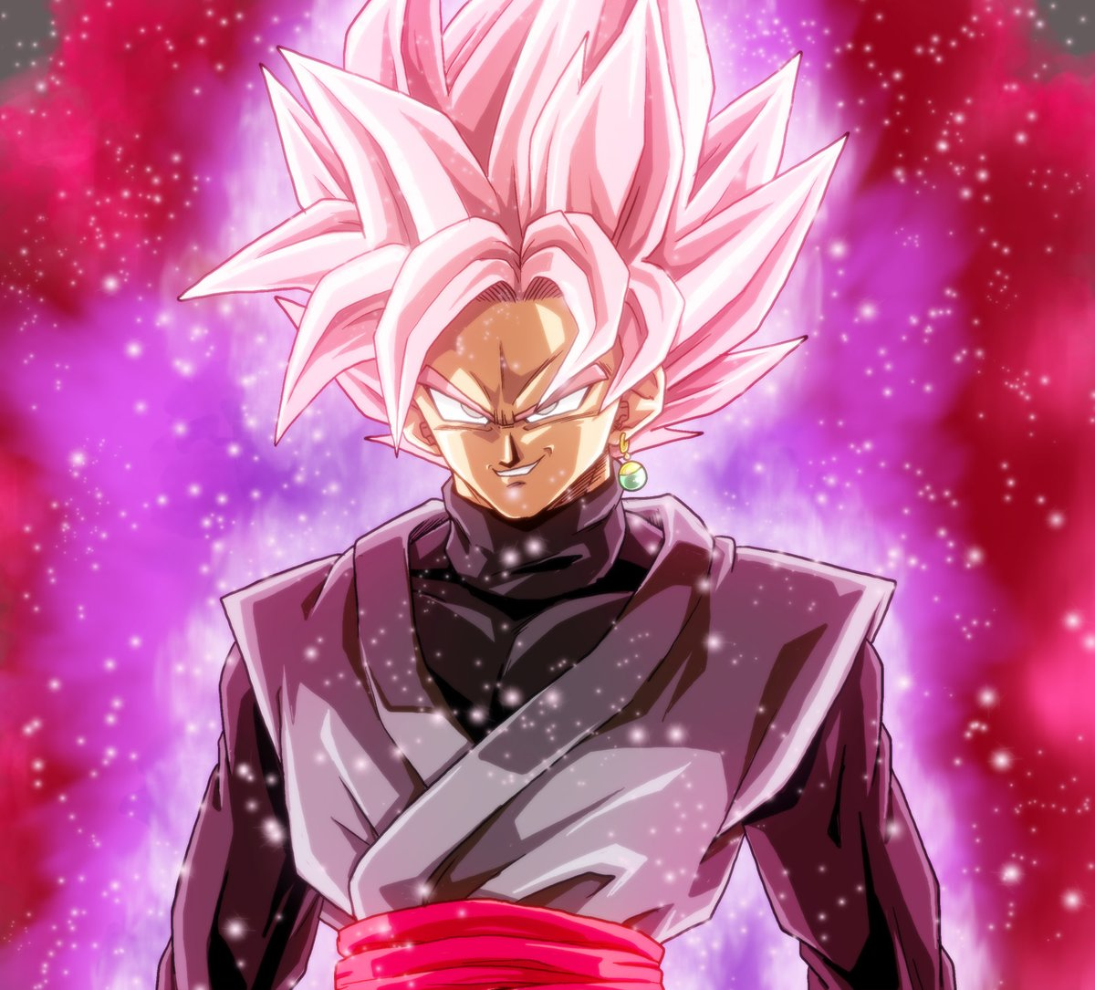 Free Download Goku Black Super Saiyan Rose By Gokussj20