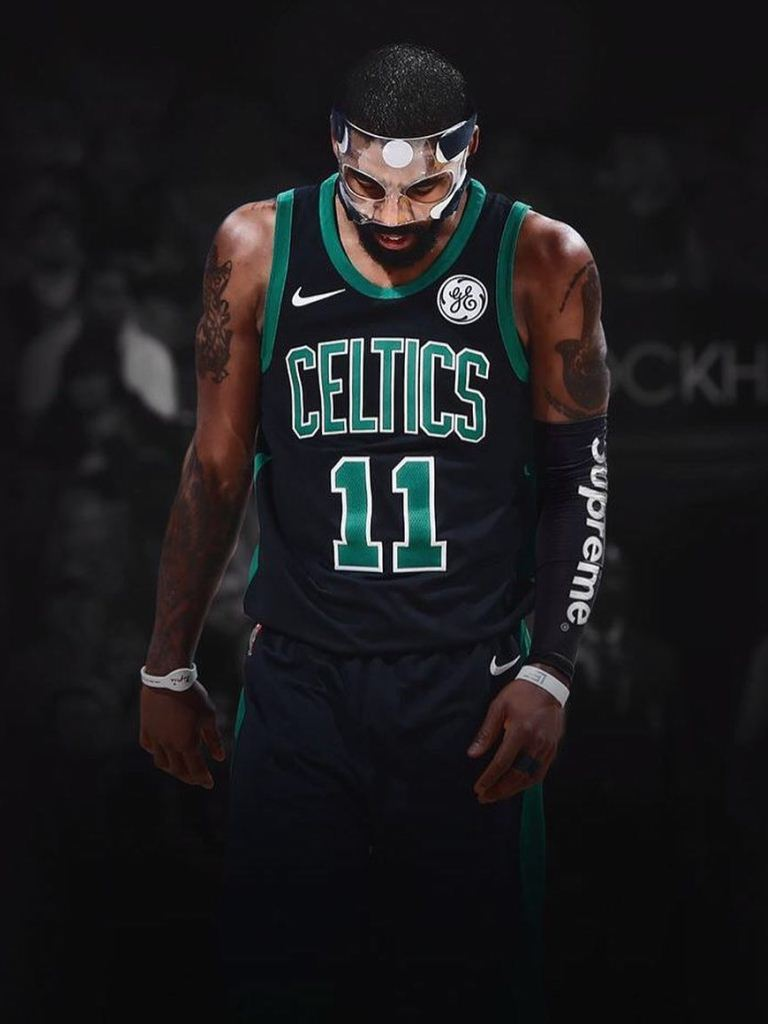 Kyrie Irving Celtics Wallpaper   Wallpaperspit 768x1024