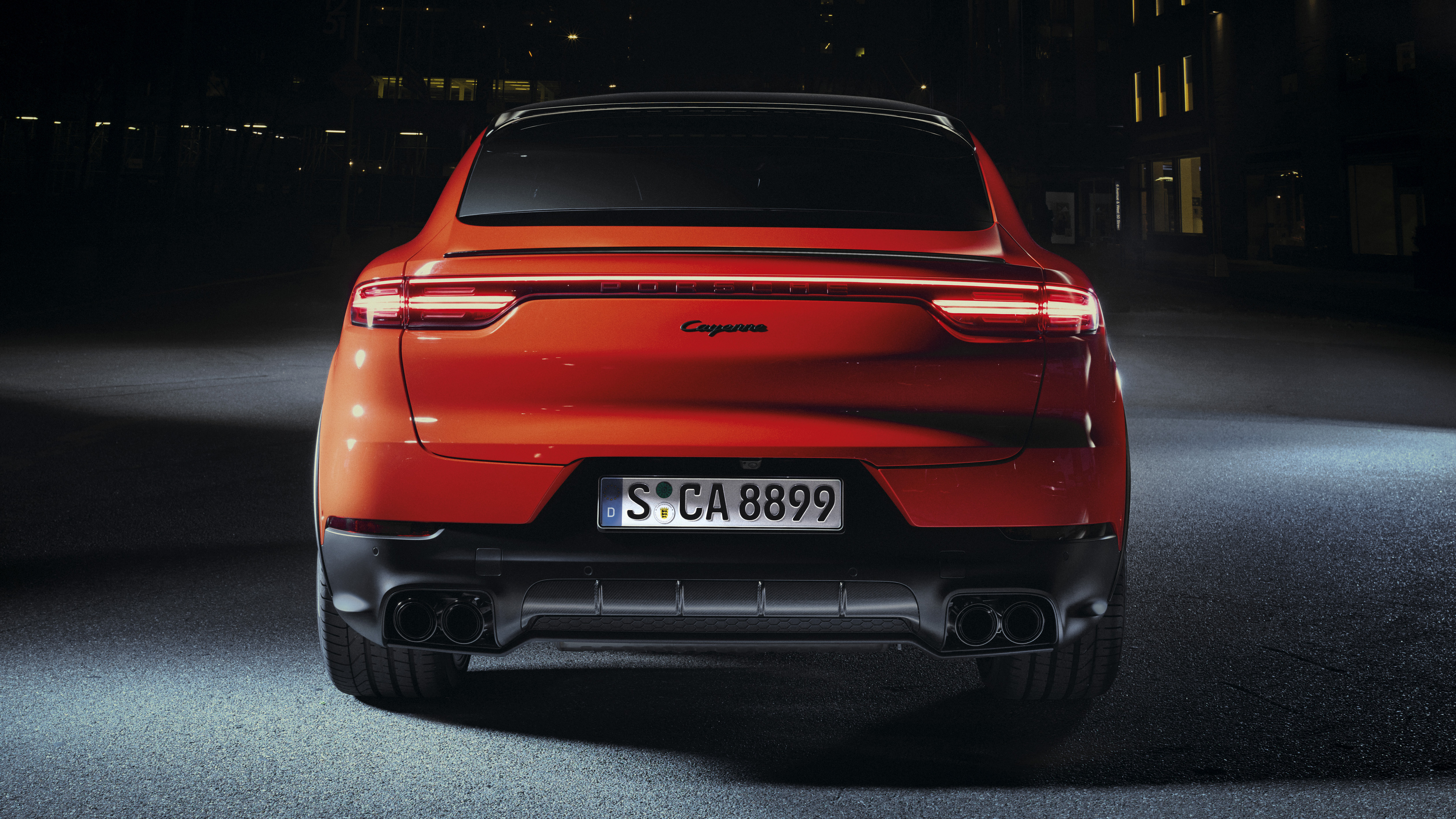 Porsche Cayenne Coupe 2019 4K 6 Wallpaper HD Car Wallpapers ID 5120x2880