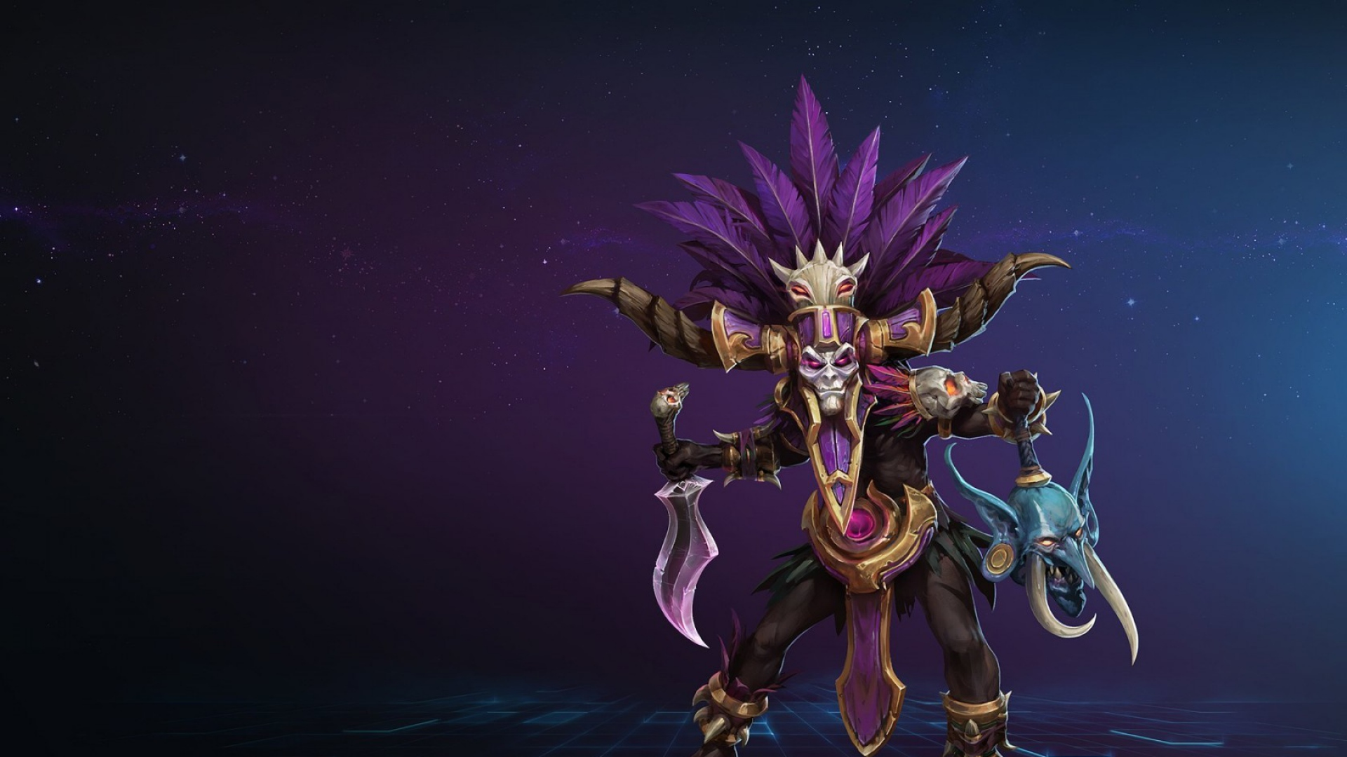 Free Download 1920x1080 Heroes Of The Storm Blizzard Warlock