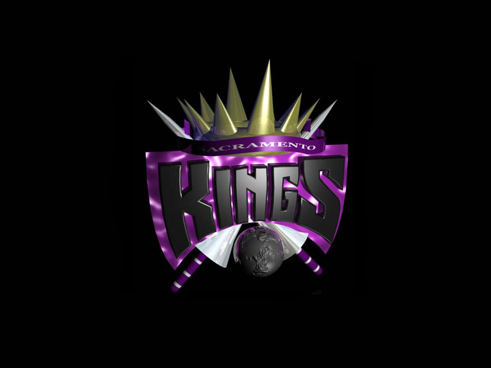 Sacramento Kings Logo Wallpaper Basketball Wallpapers at 1600x1200