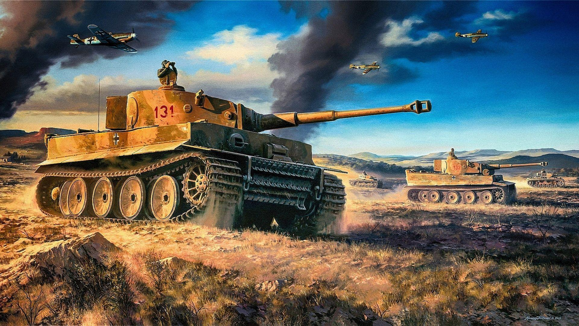 Tiger Tank Wallpapers   Top Tiger Tank Backgrounds 1920x1080