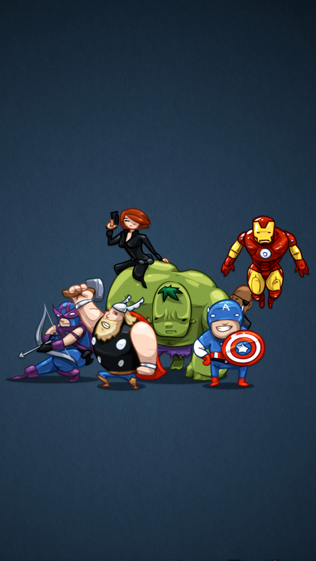 The Avengers iPhone 5 Wallpaper iPod Wallpaper HD   Download 640x1136