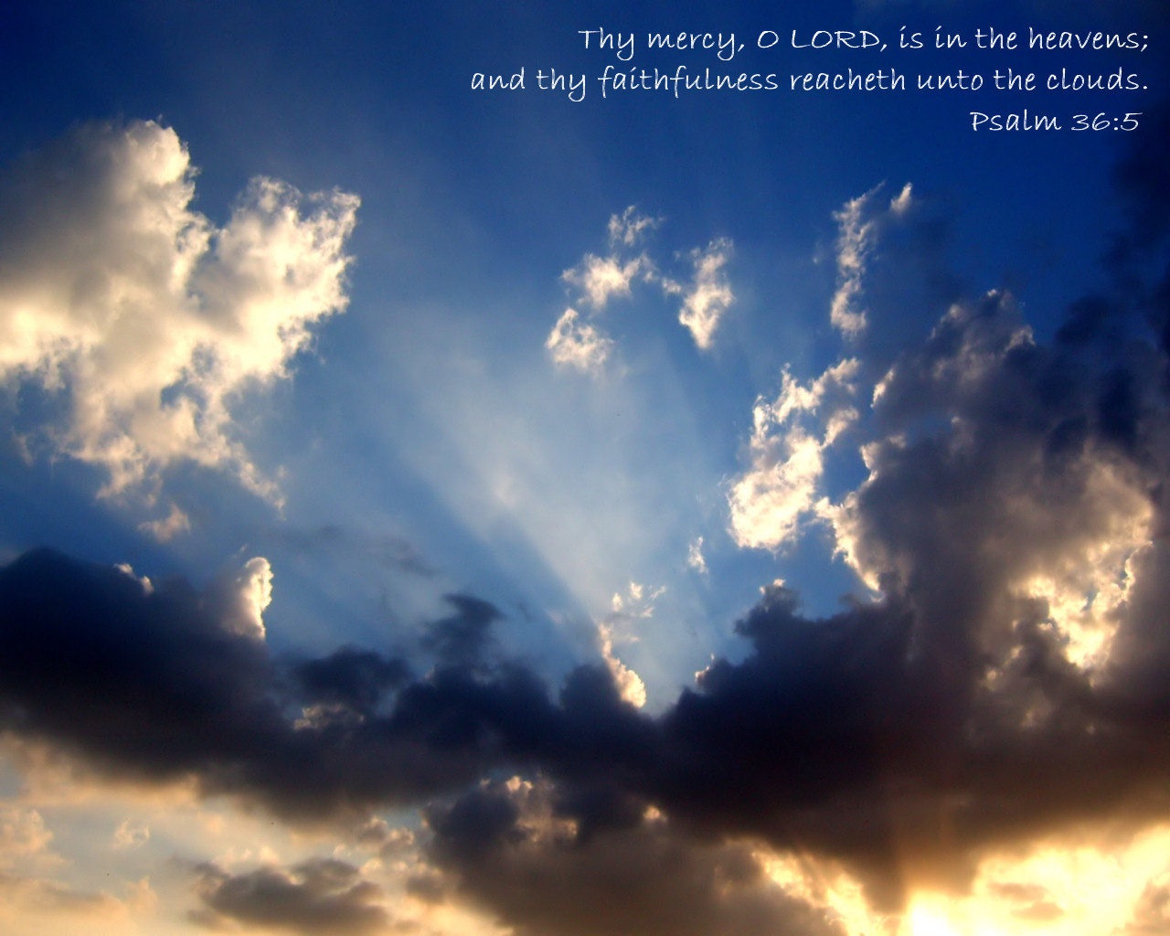 Inspirational Psalm Bible Verses Wallpapers 1280x1024