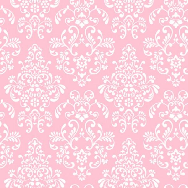 Pink White Damask Print Wallpaper   Wallpaper Brokers Melbourne 600x600