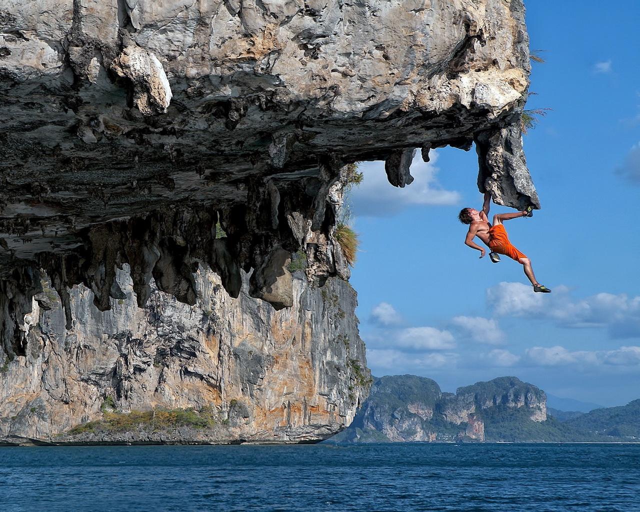 Chris Sharma deep water soloing Values Pinterest 1280x1024