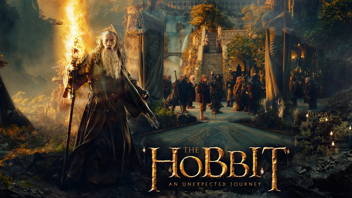 The Hobbit An Unexpected Journey Wallpaper 1366x768 resolution 1366x768