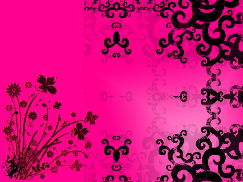Wallpaper Black And Pink Desktop Cool Wallpapers 1024x768