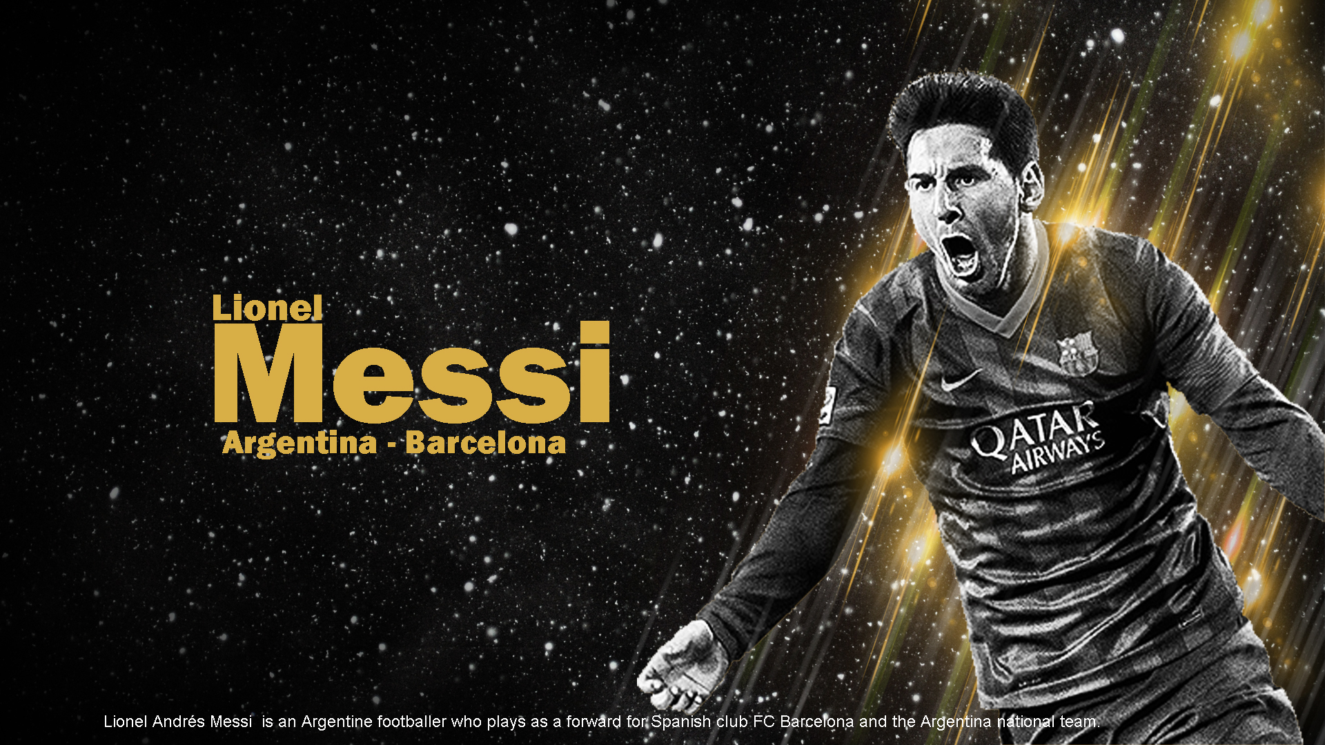 Lionel Messi Wallpaper 2015 HD Wallpapers HD images HD Pictures 1920x1080
