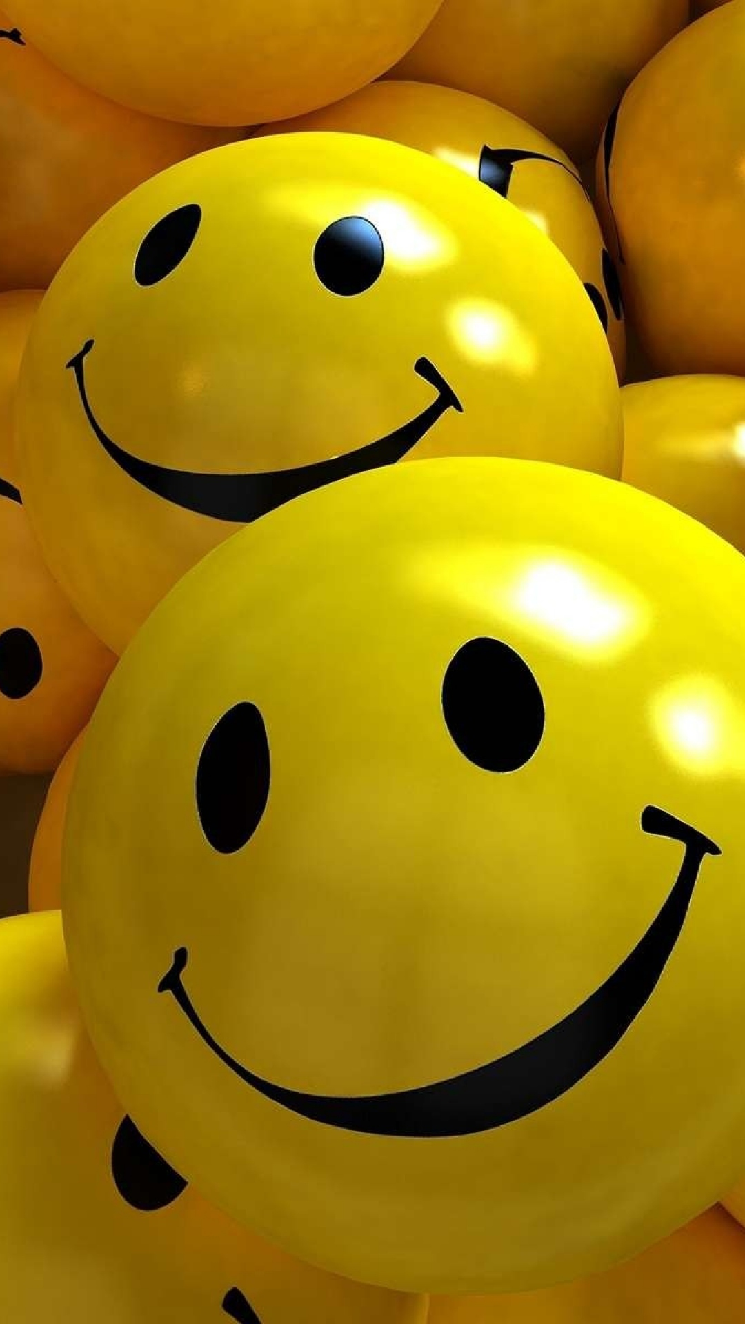 Free Download Download Hd 3d Yellow Smile Balls Wallpaper Wallpapersbyte 1080x1920 For Your Desktop Mobile Tablet Explore 26 Smileys Wallpapers For Mobile Smileys Wallpapers For Mobile Smileys Wallpaper Wallpapers For Mobile