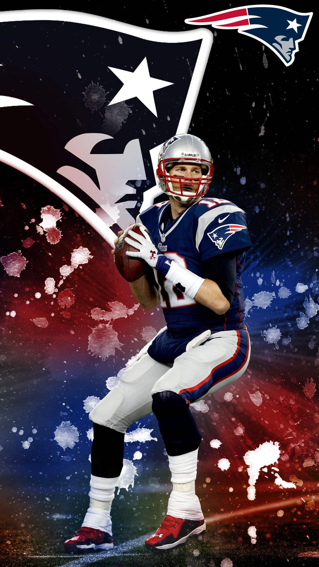Tom Brady iPhone 7 Plus Wallpaper patriots New england 1080x1920