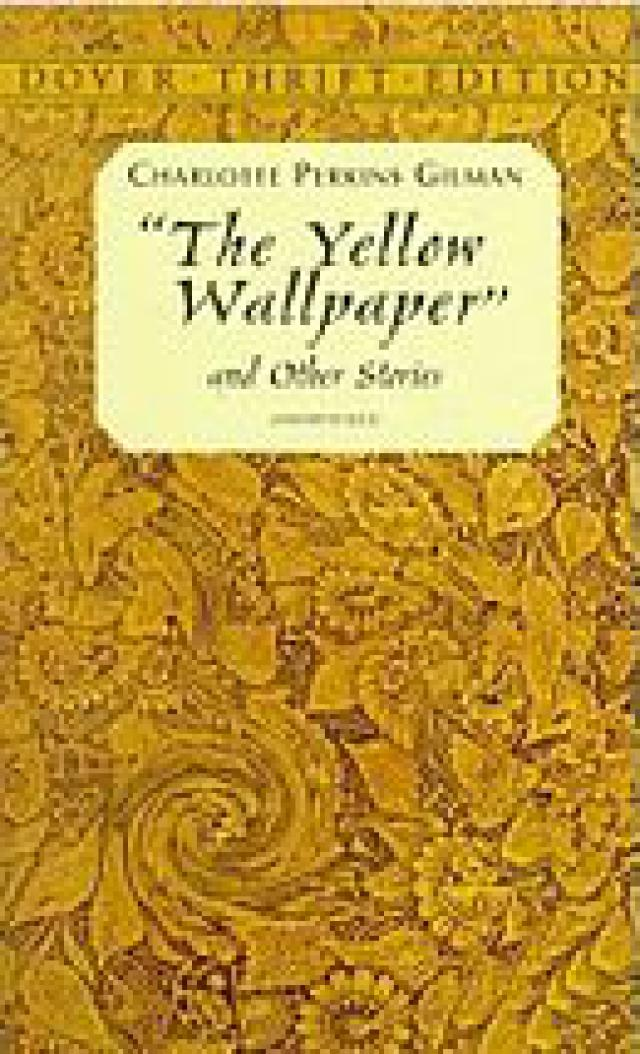 The Yellow Wallpaper Story By Charlotte Perkins Gilman 640x1054