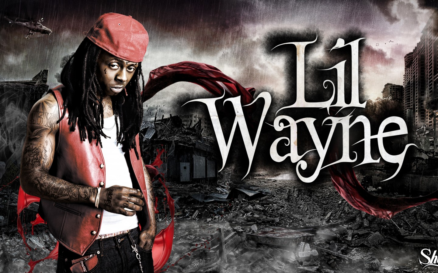 Lil Wayne HD 4 Rap Wallpapers 1440x900