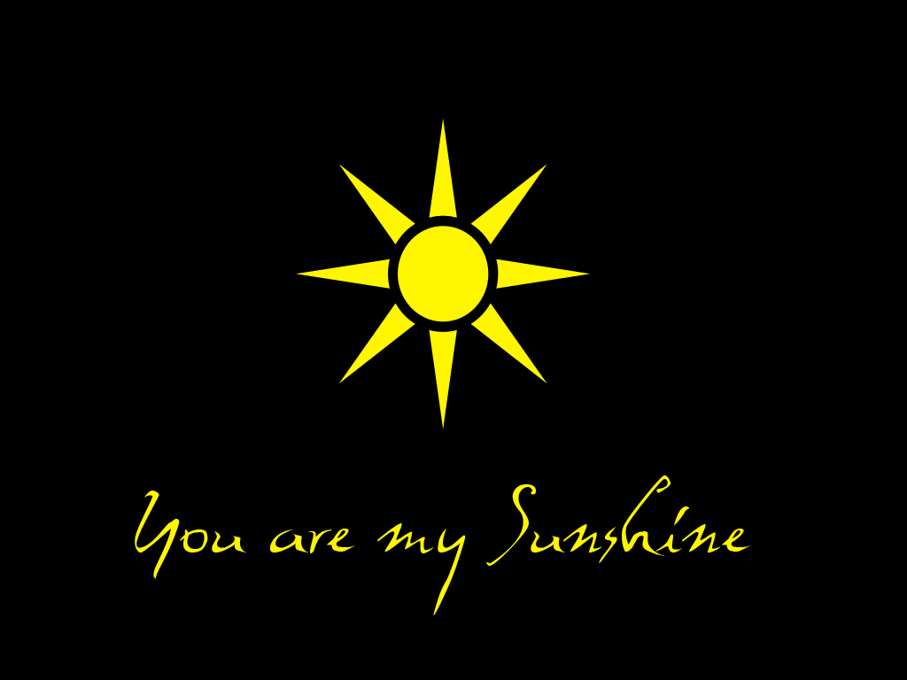 You are my sunshine wallpaper by sayurie 1024x768