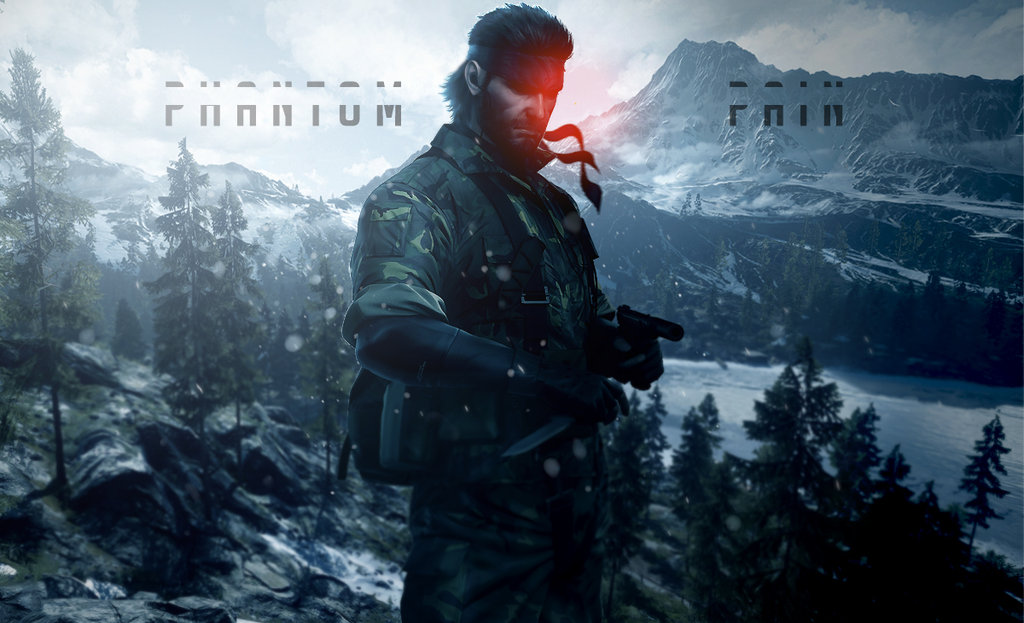 Free Download Metal Gear Solid V The Phantom Pain Wallpaper