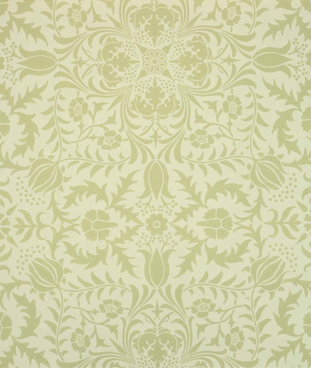 Borage ceiling paper William Morris 1888 9 Museum no E833 1915 1000x1185