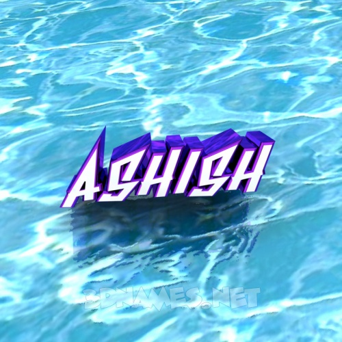 22 3D Name wallpaper images for the name of ashish 500x500