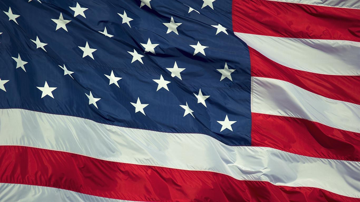Download 1366x768 United States Flag Desktop 1366x768