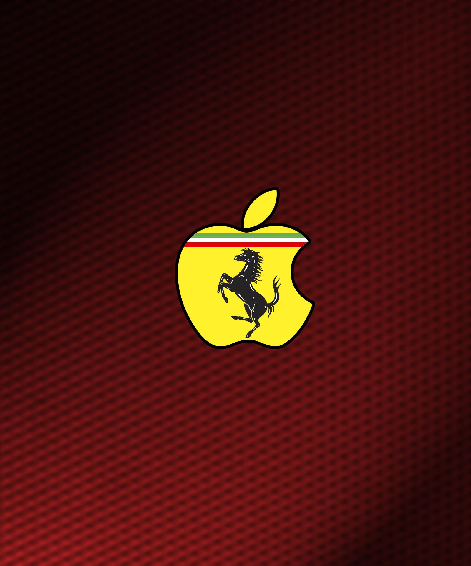 Ferrari Apple iPad Wallpaper ipadflavacom 1600x1920