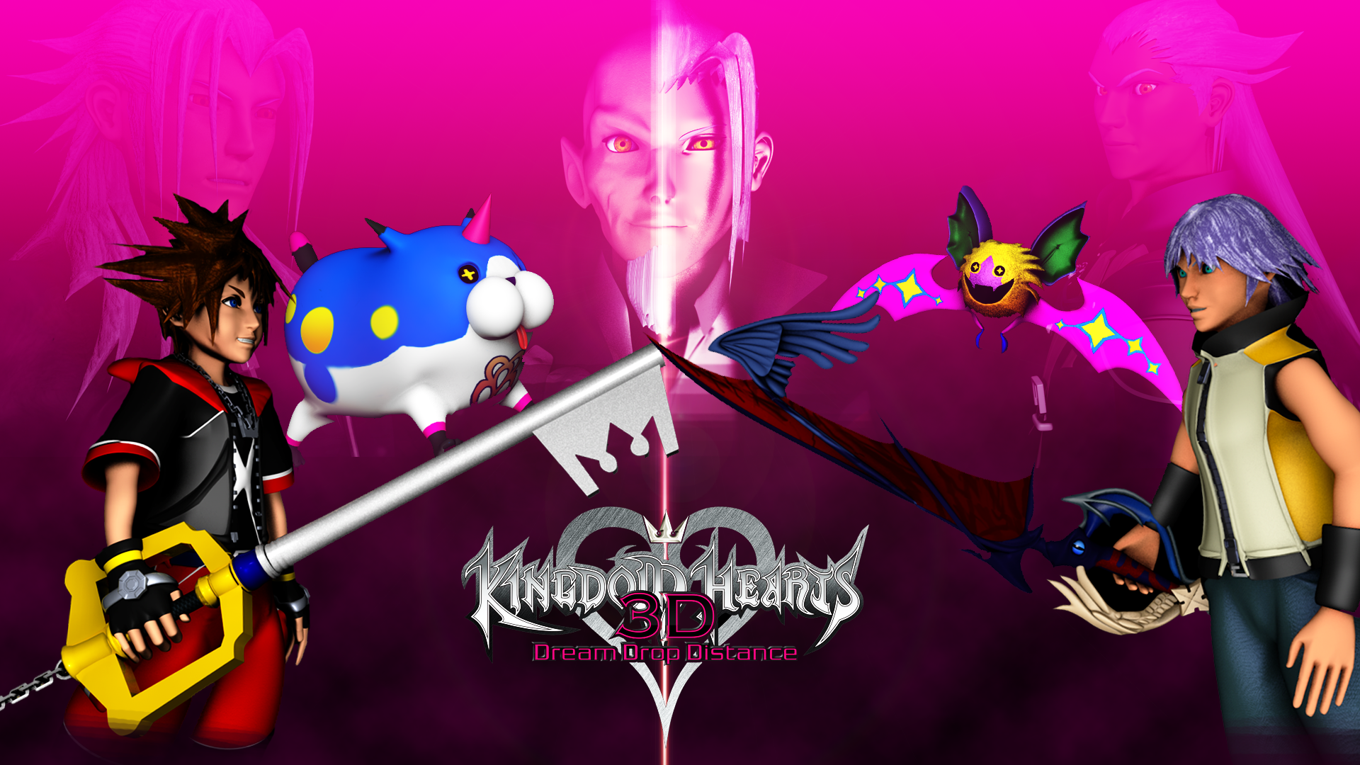 Kingdom Hearts 3D Wallpaper by TheRPGPlayer 1920x1080