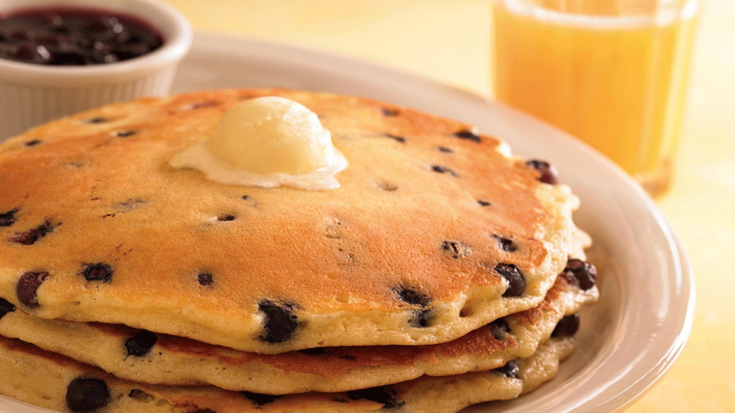Pancakes Wallpaper 6852284 2560x1440