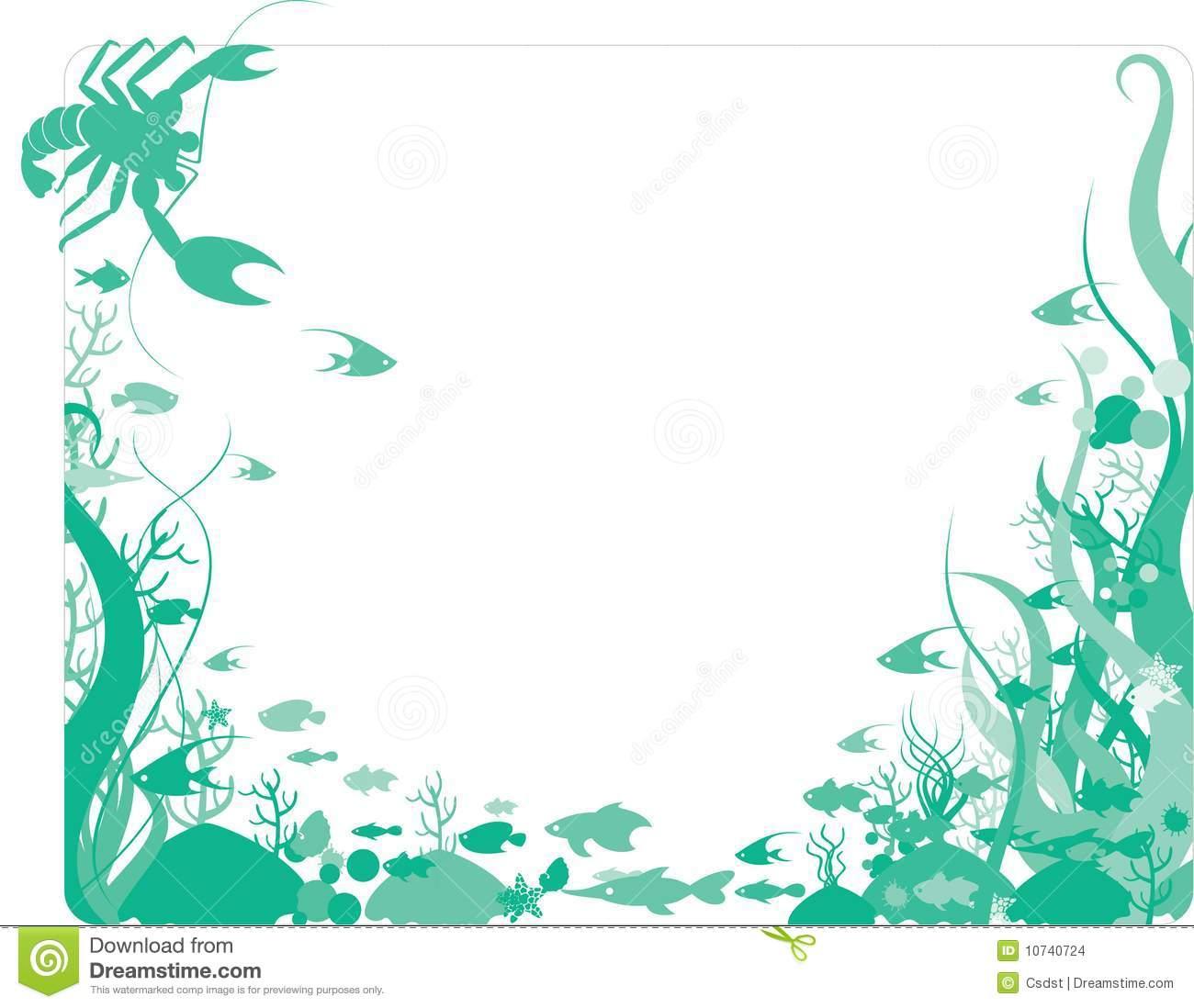 Ocean Themed Wallpaper Borders Wallpapersafari