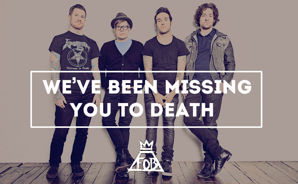 Group Of Background Fall Out Boy