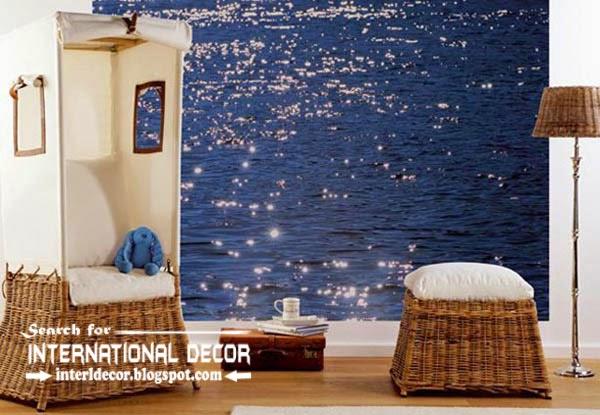 Wall Murals Wallpaper Covering Ideas Contemporary Mural 600x415