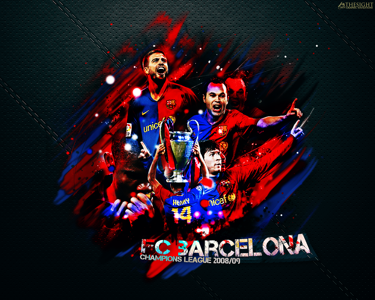 HD]FC Barcelona Wallpapers Risen Sources 1280x1024