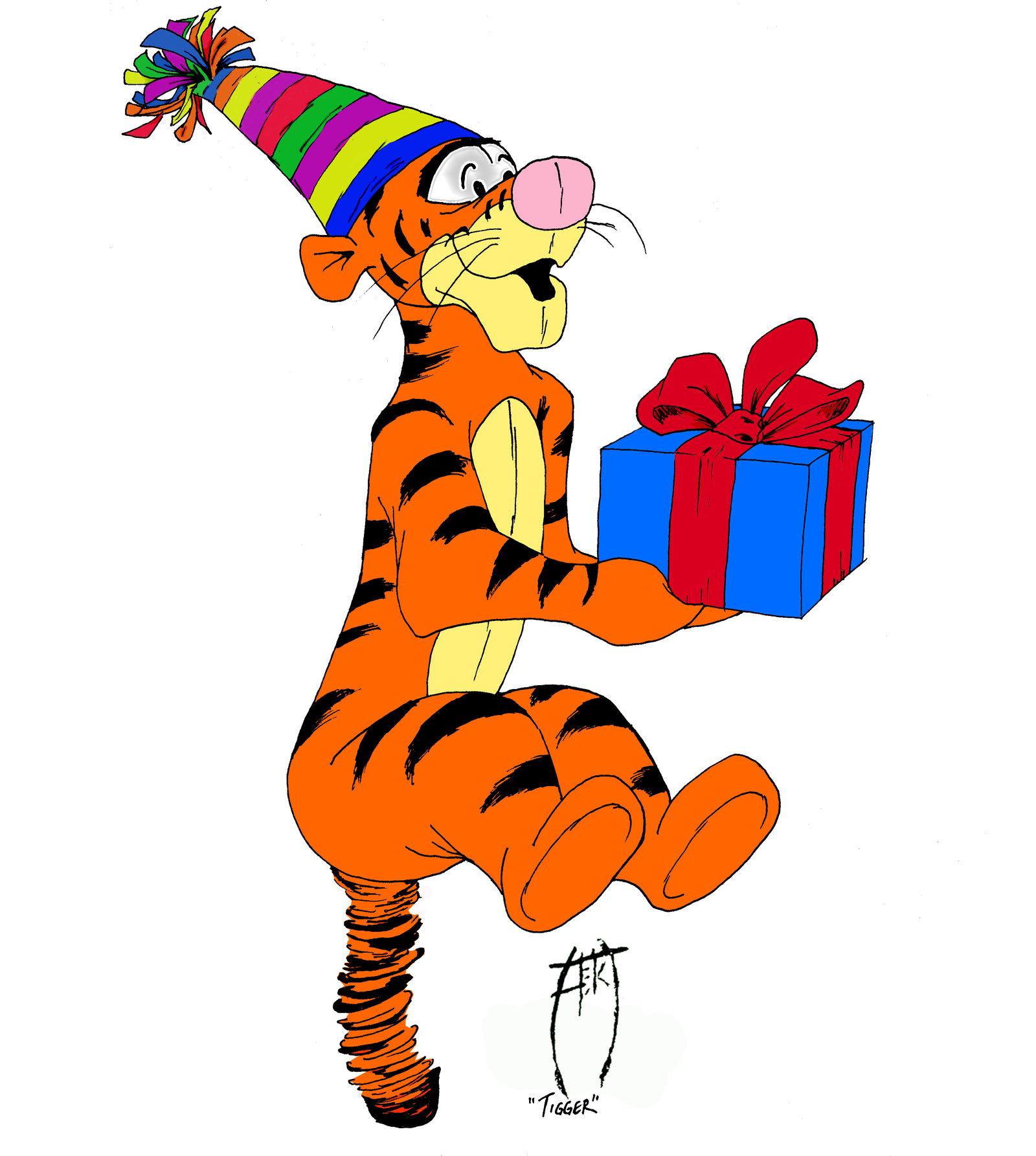 Анимационные открытки с днем рождения из мультфильмов