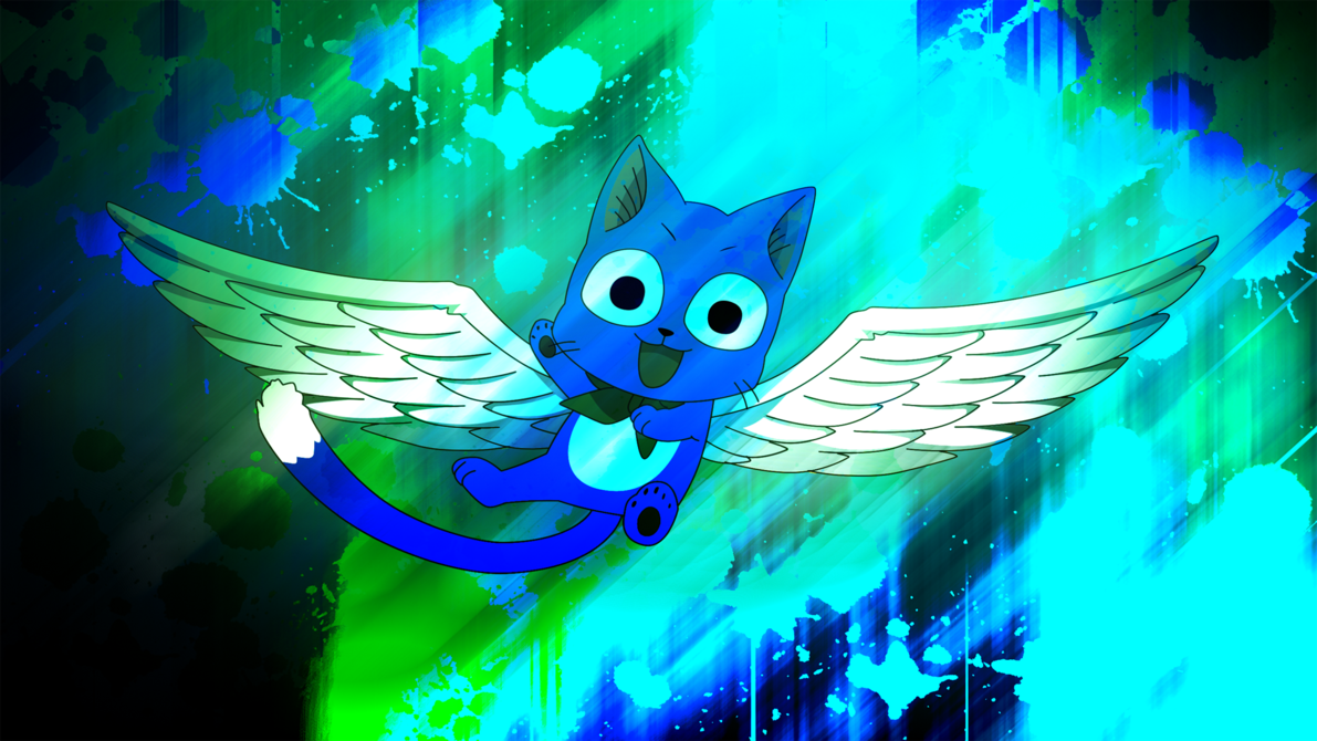 Fairy Tail Happy the Exceed Fairy Tail Happy Iphone Wallpaper 1191x670